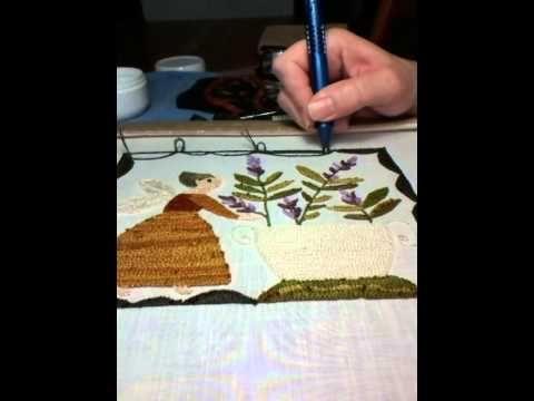 Mejores 138 im genes de punto ruso bordados con aguja for Como hacer alfombras en bordado chino
