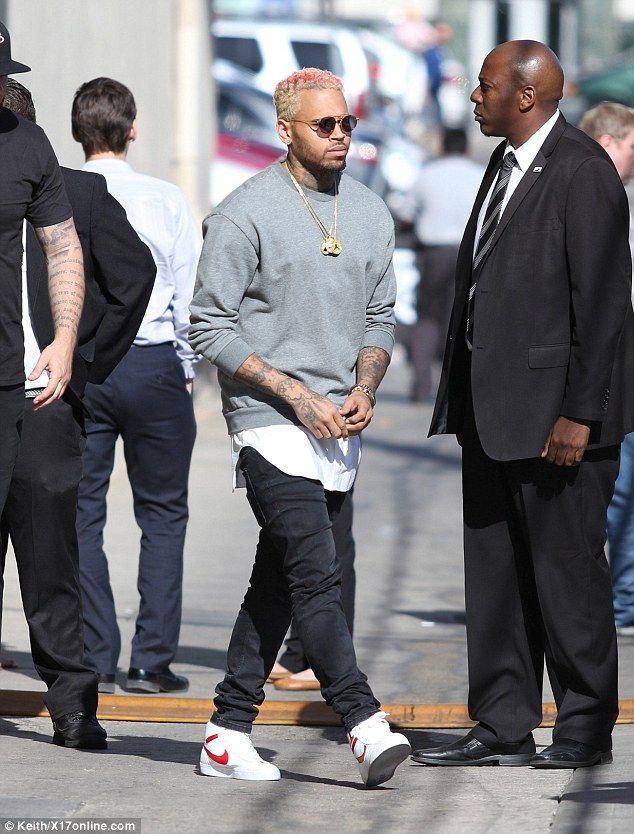 Chris Brown amp Frank Ocean Fight  TMZcom