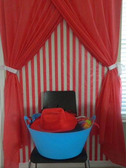 """Photo 4 of 77: Carnival/Circus / Birthday """"Baby O's First Birthday Circus Extravaganza"""" 