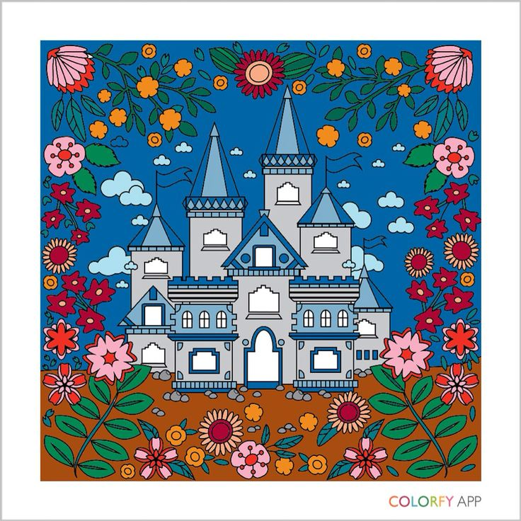 82 Best Gardens Colorfy Images On Pinterest