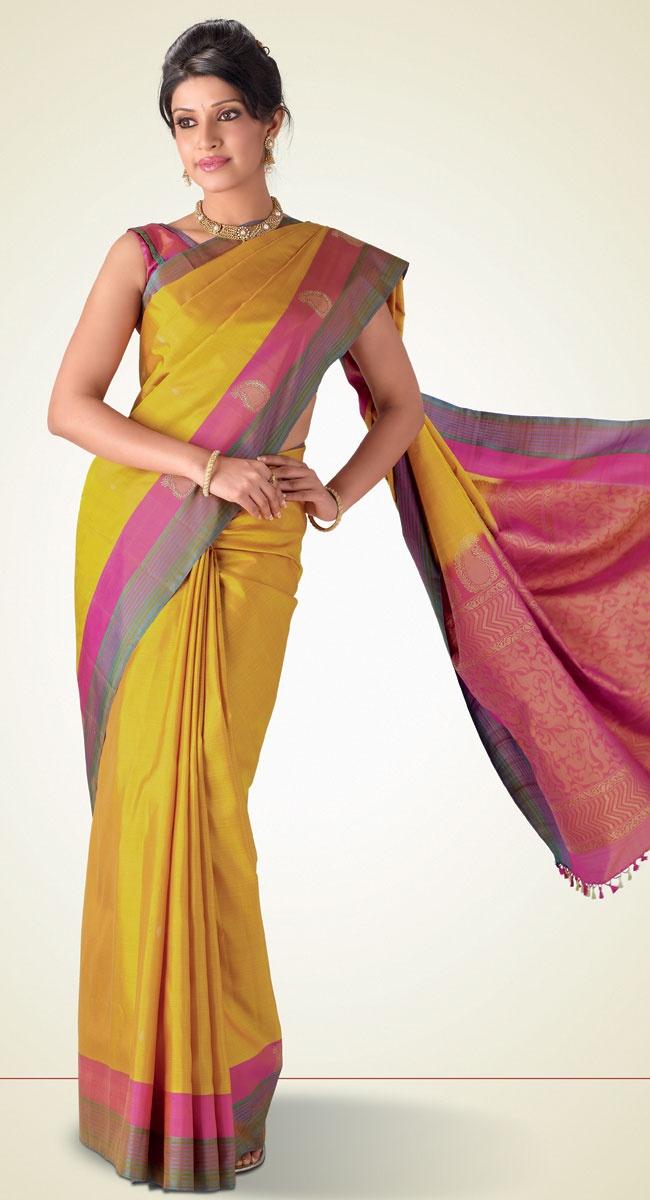 Amitha Kanchipuram Saree http://www.harinisilks.com/amitha-kanchipuram-saree.html