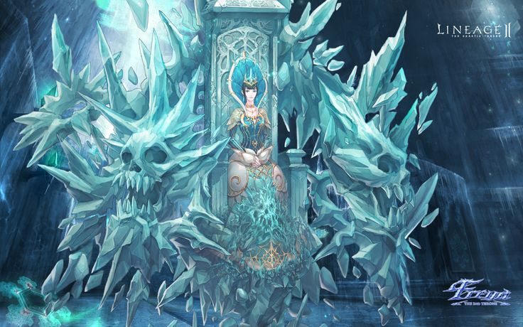 ice throne - Google Search