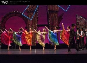 The Royal Winnipeg Ballet's Moulin Rouge opens tonight! #winnipeg