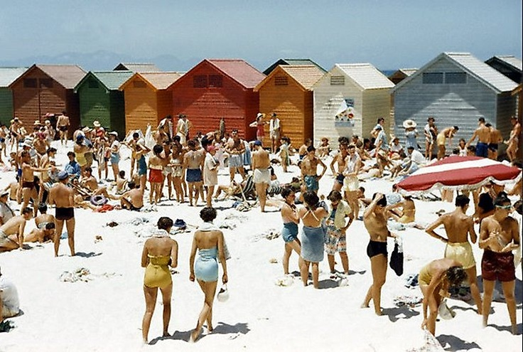 Muizenberg beach 1953