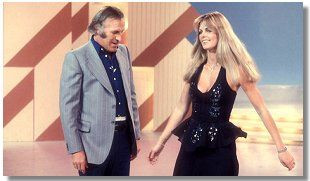 Give us a twirl.  Bruce Forsyth and Andrea Redfearn.  The golden age of Saturday night tv.