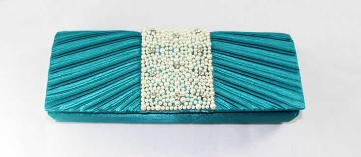 Turquoise Party Purse wedding clutch bag