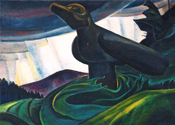 EmilyCarr-Big-Raven-1931.