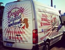 Vehicle Wrap for Doggie Styled