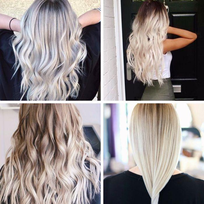 1001 Idees Pour Adopter La Couleur Blond Polaire Couleur Blond Polaire Blond Polaire Couleur Blonde