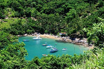 Praia da Fome - Ilha Bela - SP