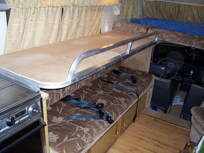 73 best rv bunks images on pinterest | 3/4 beds, vintage campers