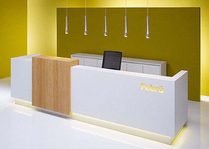33 Reception Desks Featuring Interesting And Intriguing Designs