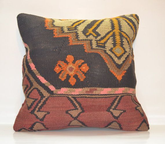 Hey, I found this really awesome Etsy listing at https://www.etsy.com/listing/178825591/brown-ethnic-pillow-cover-turkish-sham