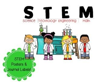 Free Posters for classroom use!Use posters for bulletin boards, wall displays, etc. to promote STEM!Includes:8.5 x 11 Poster with science Kids and STEMExecutive Size Poster with science Kids and STEMIf you like these posters, also look for my free interactive journal labels!