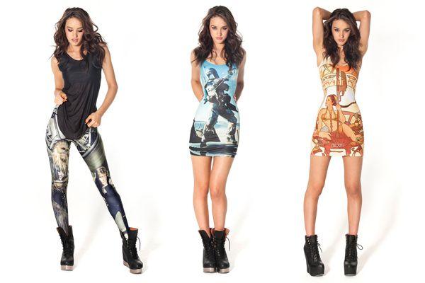La nueva línea de ropa de Star Wars de Black Milk Clothing
