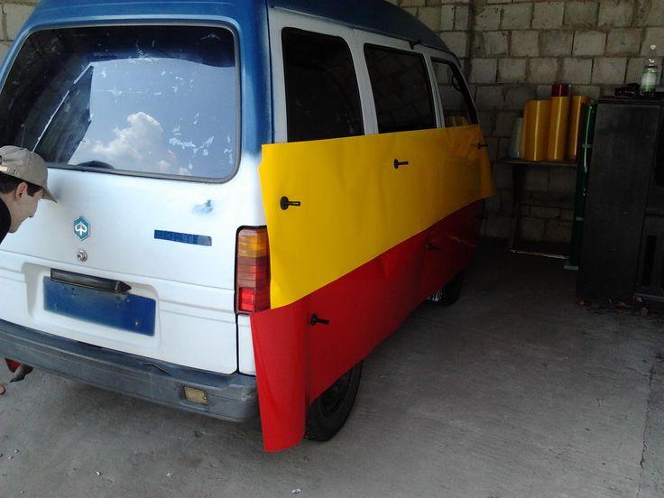 DIY car wrapping