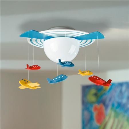 69 best childrens lighting rugs images on pinterest childrens calling all airplanes ceiling light aloadofball Gallery