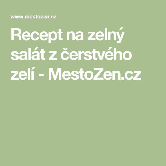Recept na zelný salát z čerstvého zelí - MestoZen.cz