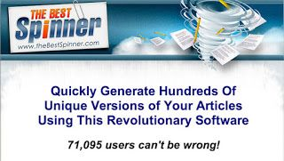 The Best Spinner Free Download  Best Free Spinner  The Best Spinner is really a really remarkable article spinner. Enormous variety of webmasters bloggers and internet marketers are applying this great tool. First of all I would like to explain that. Actually what is Report rotating? Does whats that?  Report rotating is a search engine optimization method by which blog or internet site homeowners post an original edition of appropriate content on their sites. It works by spinning present…