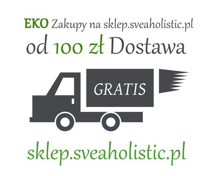 Bezpłatna dostawa od 100 zł - naturaln kosmetyki i suplementy diety http://sklep.sveaholistic.pl   #darmowadostawa #dostawagratis #bezpłatnadostawakosmetyków #ekokosmetykizdarmowądostawą