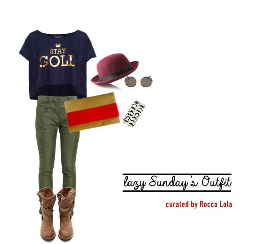 Casual outfit on lazy sunday :D