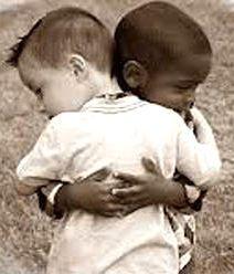 Friends.  (Vintage Photos - Children).