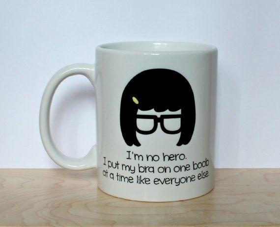 """This mug for a smart, strong, sensual woman. 