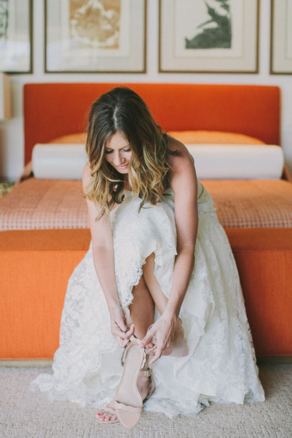 Retro Palm Springs wedding at Frank Sinatra Estate