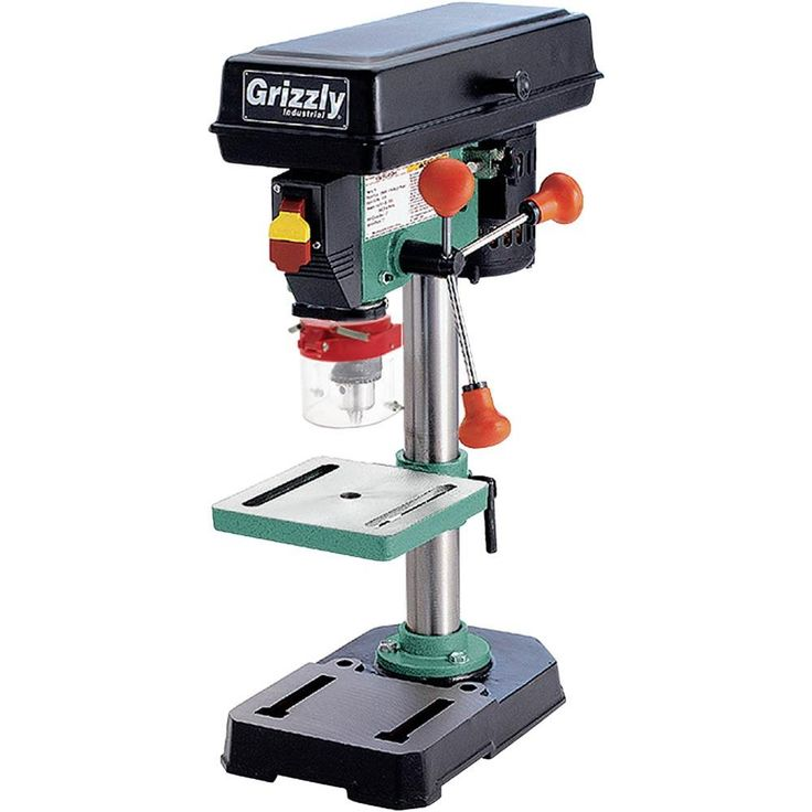 5 Speed Baby Drill Press | Grizzly Industrial
