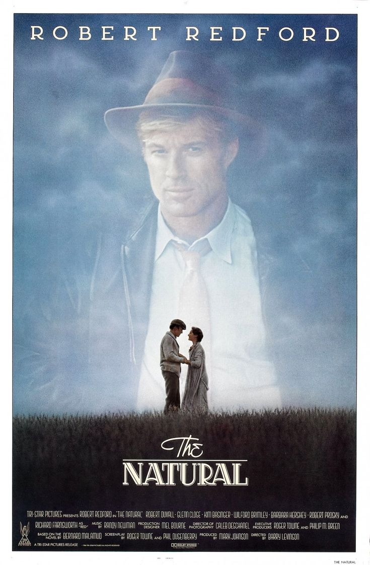 The Natural.  1984.  One of the great baseball films.  Amazing mythic story about an amazing game.
