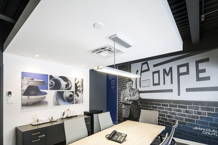 bureaux commerciaux, commercial, grandes impressions, logo, meeting room, salle de conférences