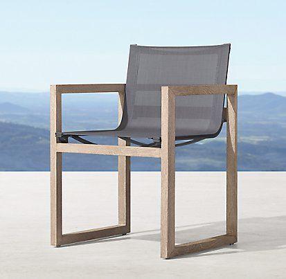 Paloma Teak Furniture Collection Weathered Grey Teak RH Modern Mesmerizing Nativa Furniture Collection