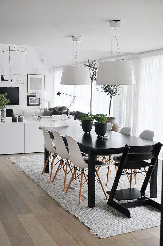 17 Best ideas about Scandinavian Dining Rooms on Pinterest