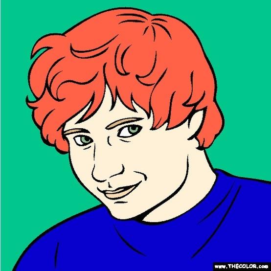 kellin quinn singer songwriter ed sheeran coloring page