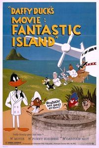 Daffy Duck Fantastic Island Poster | Looney Tunes and Merrie Melodies Compilation 1983