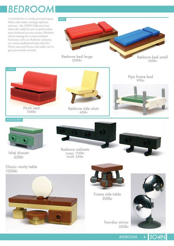 MOC - LEGO mini furniture                                                                                                                                                                                 More
