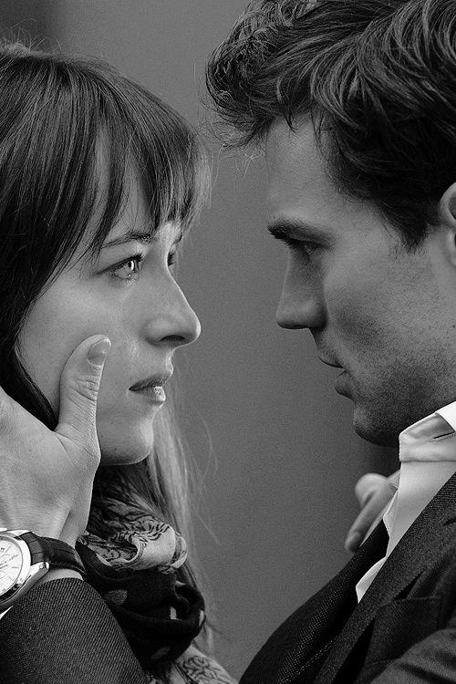 Fifty Shades Of Grey - Christian & Anastasia   Jamie Dornan & Dakota Johnson ♥