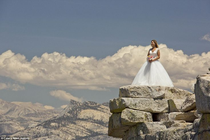Photographer Brian Ruebs - Blushing bride:During the ceremony, Brian's co-photographer, Philip Nicolas, acted as a w...