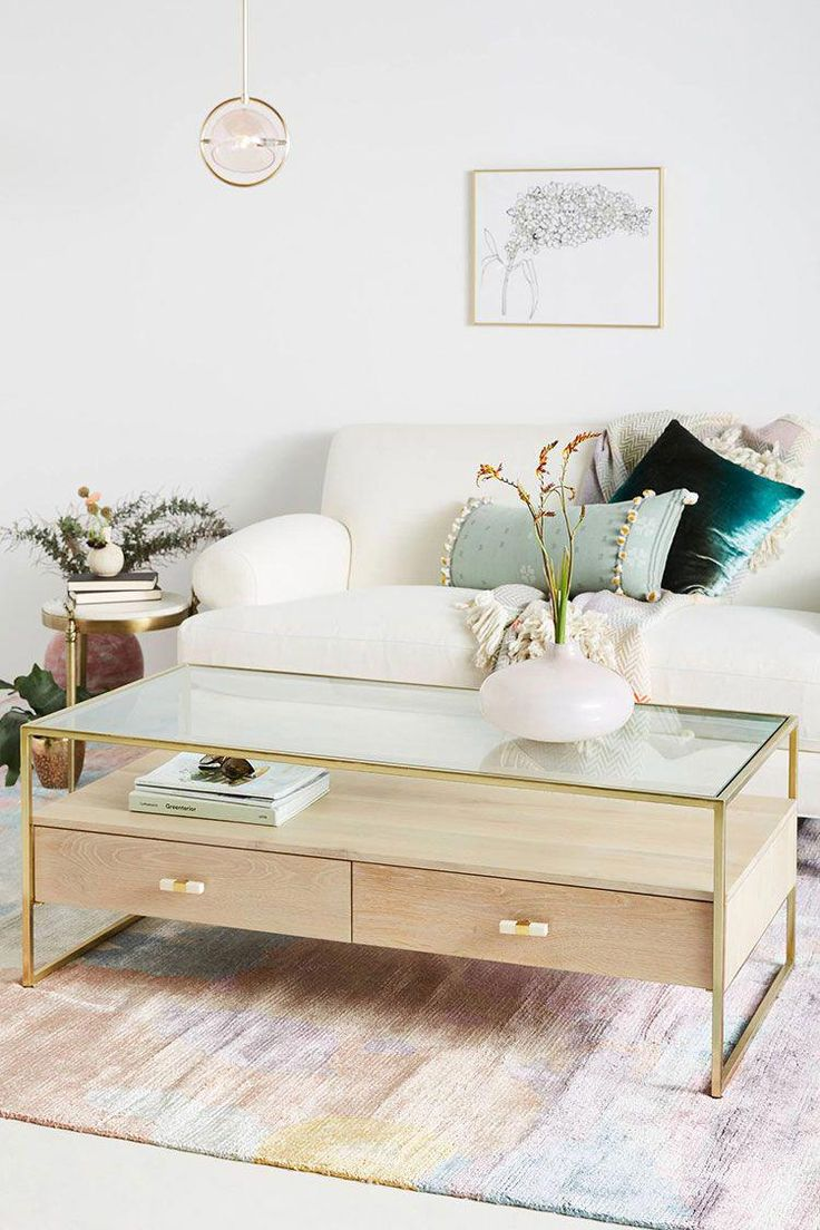 my search for a stylish coffee table with storage