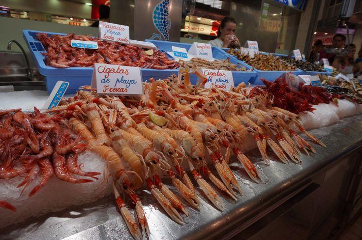 Valencia marketplace.