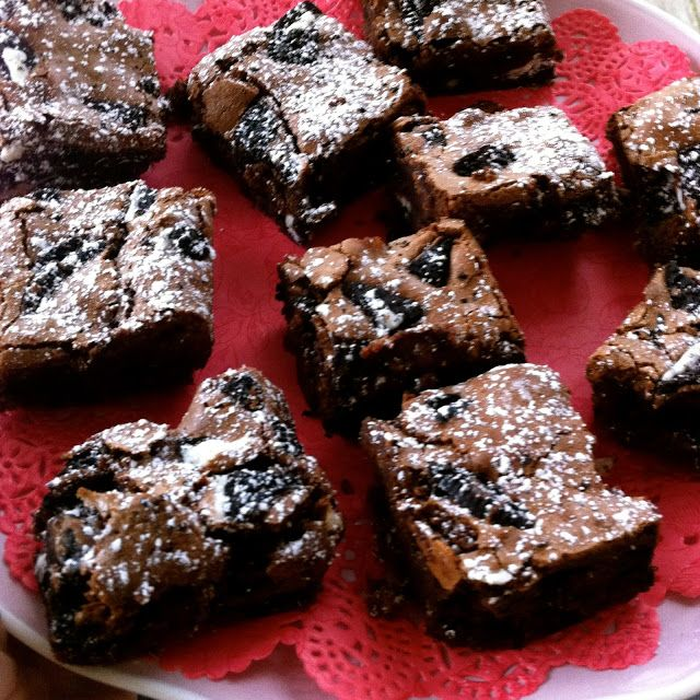 Amazing Oreo Chocolate brownie recipe from Lorraine Pascal - Nice Simple easy and it works beautifully !!