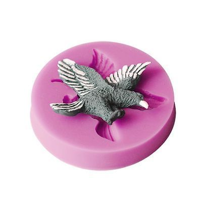 New-3D-Eagle-Resin-Silicone-Mold-Handmade-Candy-Ice-Cookie-Fondant-Cake-mould