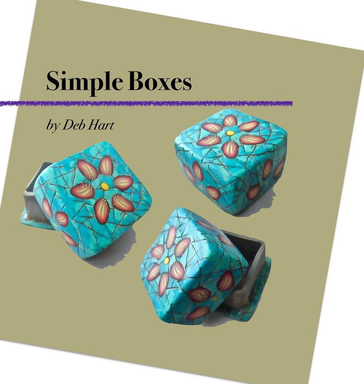 I have a new tutorial available on my website and ETSY.  People have been asking for a complete start to finish simple box class. I've been teaching this as a demo for guilds within 8 hrs of Dallas and had a handout with the various techniques but decided it was time to put it into something more finished.  It has a simple petal cane, simple box form, faux turquoise, and finishing instructions.  Get more information here:  https://www.etsy.com/listing/490730768/tutorial-simple-boxes…