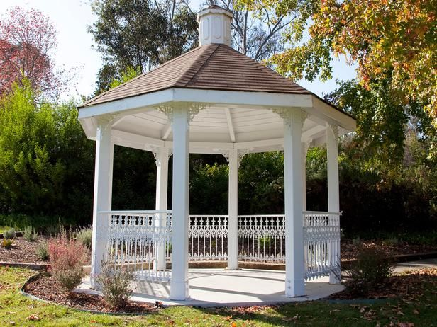 Gazebo Ideas >> http://www.hgtvremodels.com/outdoors/outdoor-gazebo-ideas/index.html?soc=pinterest