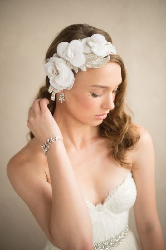 Rhinestone & Crystal Ornate Silver Bracelet - IRIDESSA