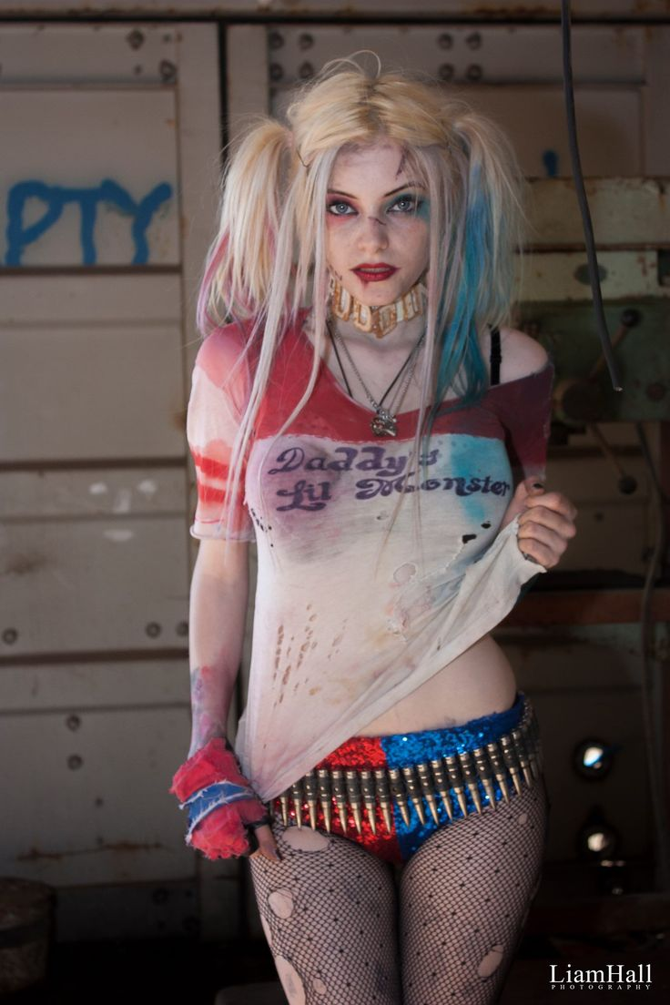 Character: Harley Quinn (Dr. Harleen Quinzel) / From: DC Comics & Warner Bros. Pictures 'Suicide Squad' / Cosplayer:  Sammy-Jo Karin Priscilla Palfrey / Photo: Liam Hall Photography (2016)