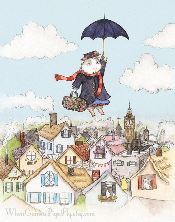 Mary Poppins Guinea Pig