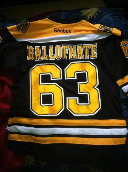 This LITTLE BALL OF HATE Brad Marchand Boston Bruins Jersey Is Awesome