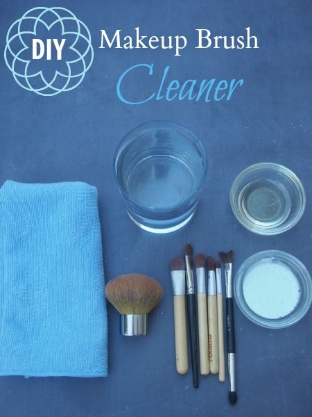 how to clean makeup brushes 1