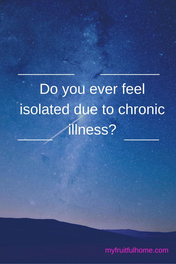 Do you ever feel isolated due to chronic illness? I know it's hard to stay connected with others when your energy is limited and you're in pain. How do you remedy this? Connections are so important. Take a look to learn some ways to go about this.